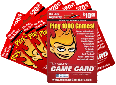 Ultimate Game Cards